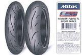 Des pneus moto Mitas sont retirés du marché