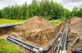 Une canalisation publique peut être imposée au propriétaire du terrain