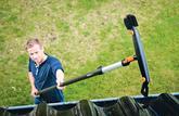 Nos essais: nettoyeur de gouttières Fiskars - Quickfit, quand revient l'automne…