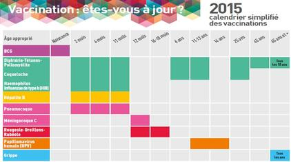 Nouveau Calendrier Vaccinal 2019.Le Nouveau Calendrier Des Vaccins Pour 2015