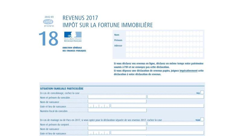 Ifi La Date Limite De Declaration De L Impot Sur La Fortune