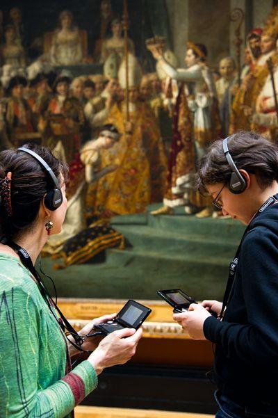 Une console Nintendo entre au Louvre