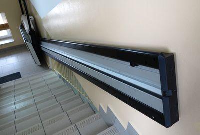 Prudence avec les monte-escaliers