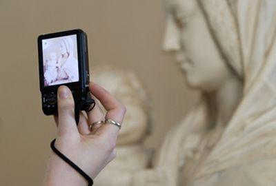 Prendre des photos dans un musée est soumis à certaines règles!