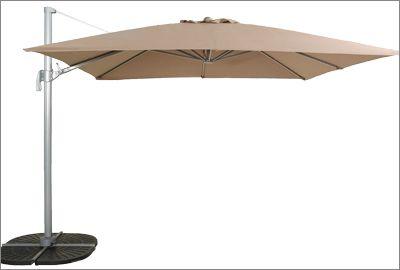 Les parasols: sous le soleil exactement...