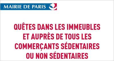 Quêtes, étrennes et ventes de calendriers sont interdites à Paris