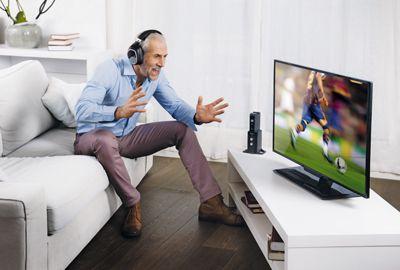 Casque Tv Sans Fil Profiter De La Télé Sans Déranger Son Entourage