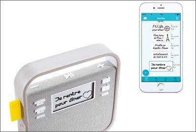 Haut-parleur connecté Invoxia Triby: une radio 2.0 dans votre cuisine