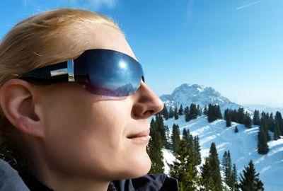 Ski: il faut protéger sa peau et ses yeux