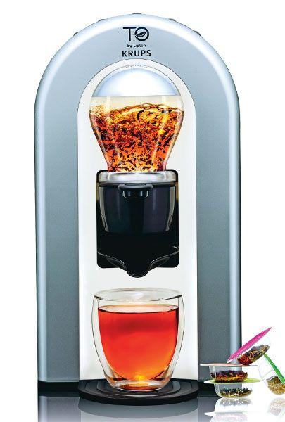 Nos essais: machine à thé, Krups, T.O by Lipton