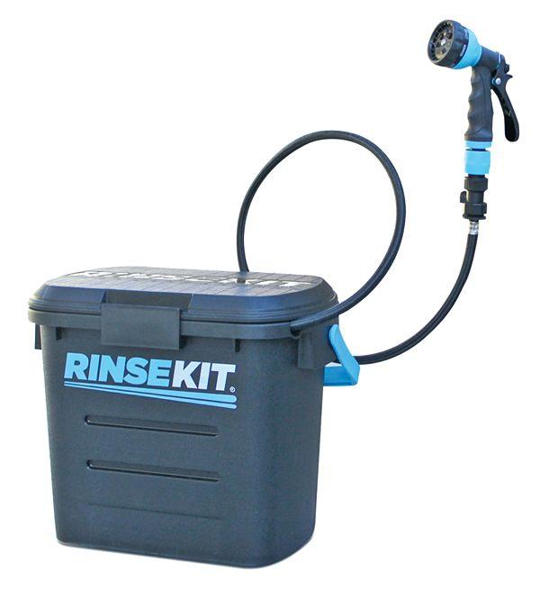 Nos essais: kit de rinçage Rinsekit, une douche de plein air