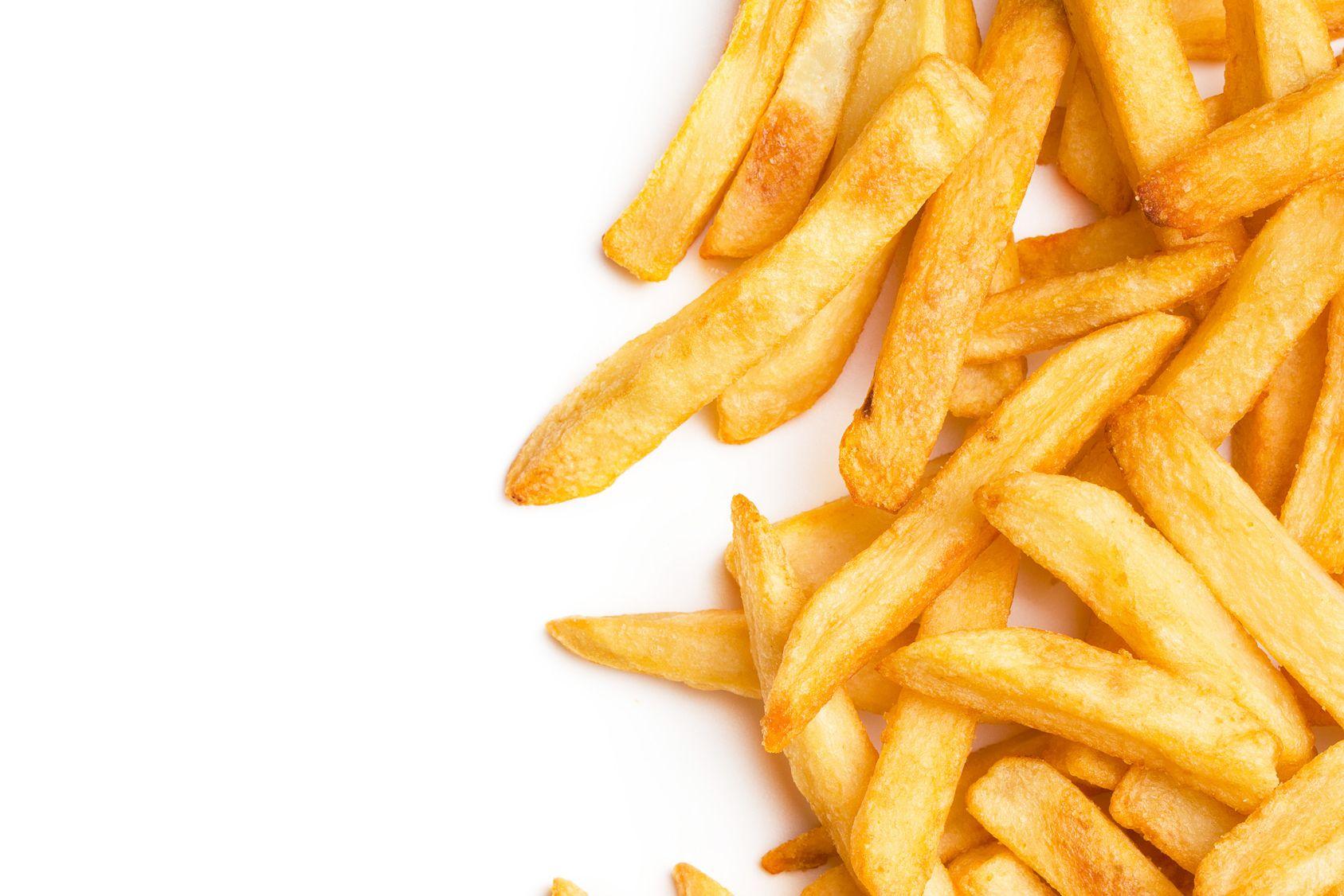 Des frites sans gras, mais peu croustillantes