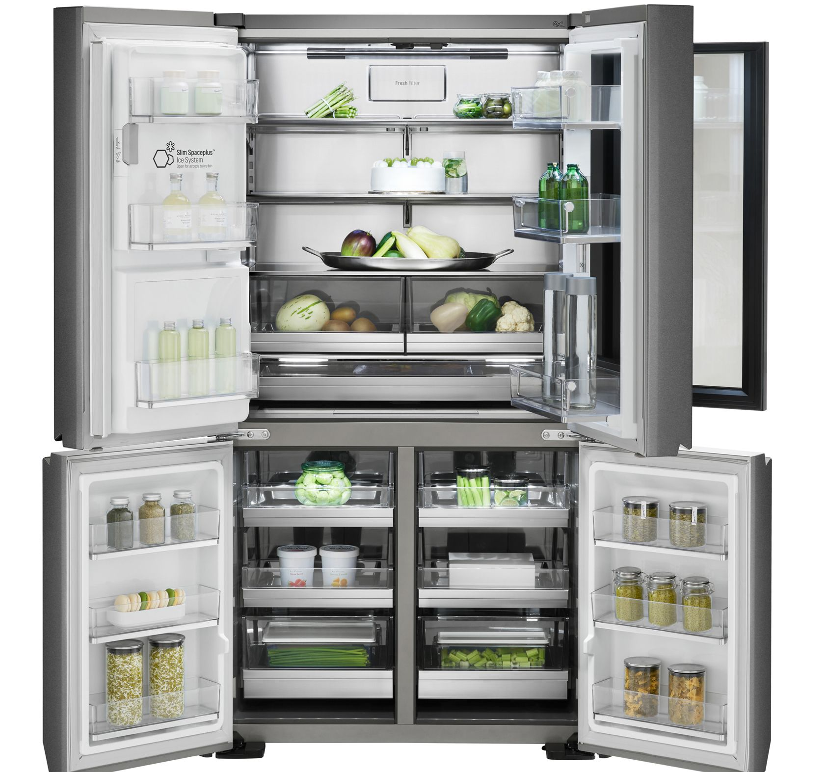 Malins, modulables: les nouveaux réfrigérateurs