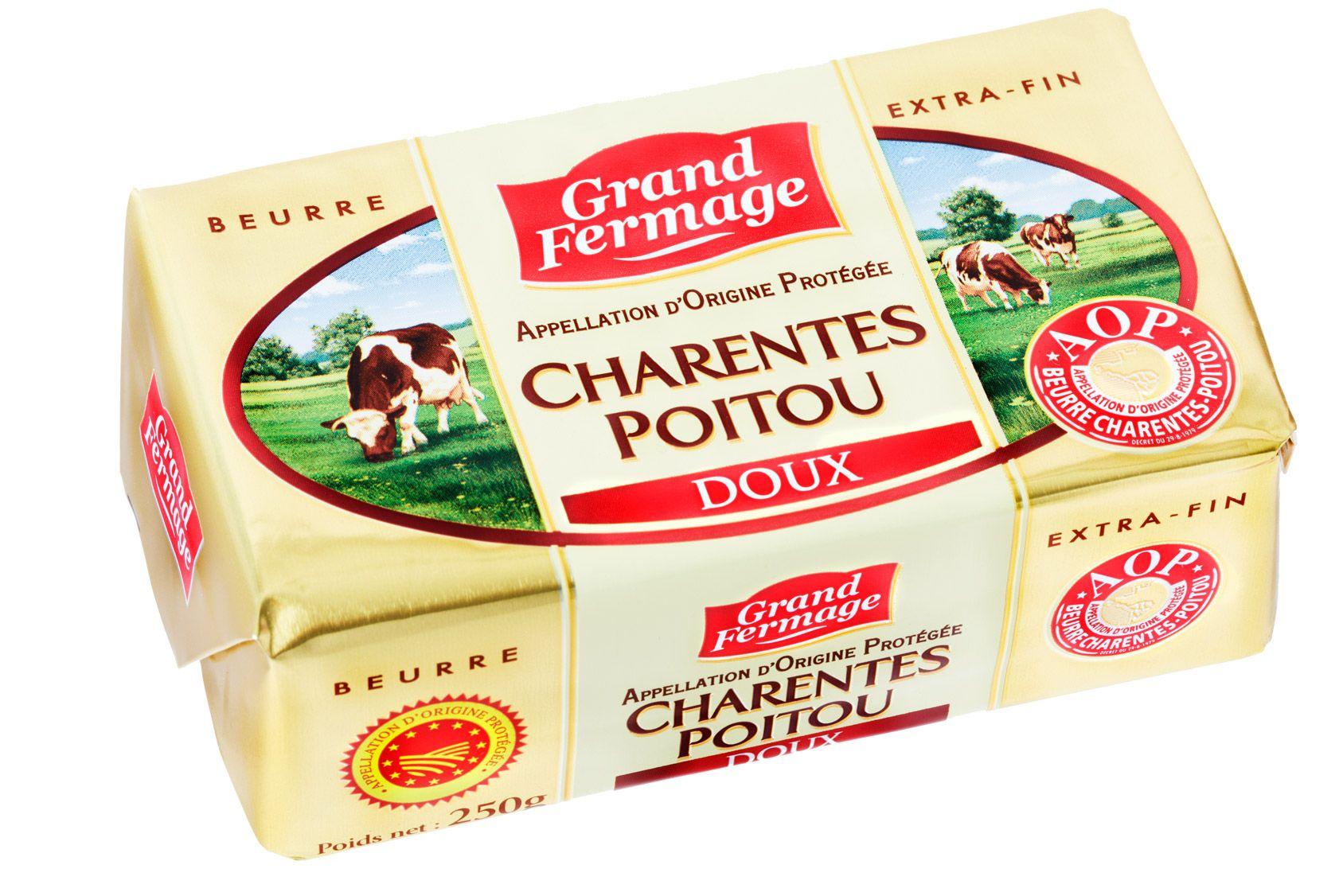 Derrière l'étiquette: le beurre
