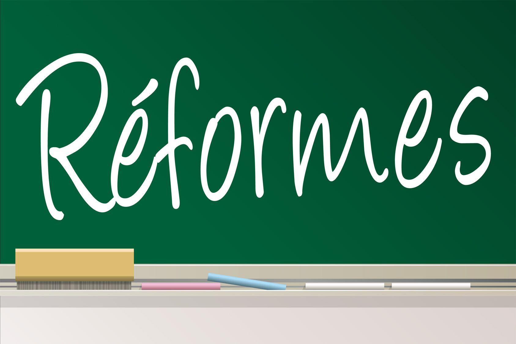 Les grandes réformes de la rentrée