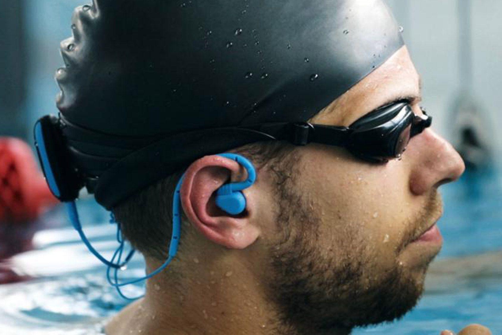 Nos essais: baladeur étanche, Essentielb - Clip'n swim, nager en musique