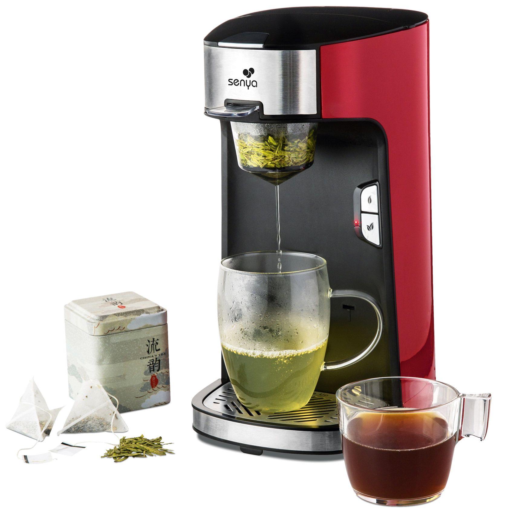 Nos essais: théière électrique Senya - Tea Time, infusions à volonté
