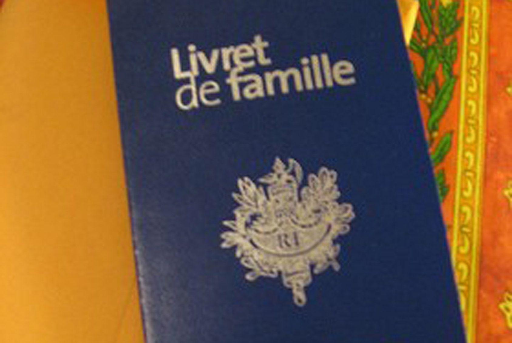 On peut obtenir un duplicata du livret de famille