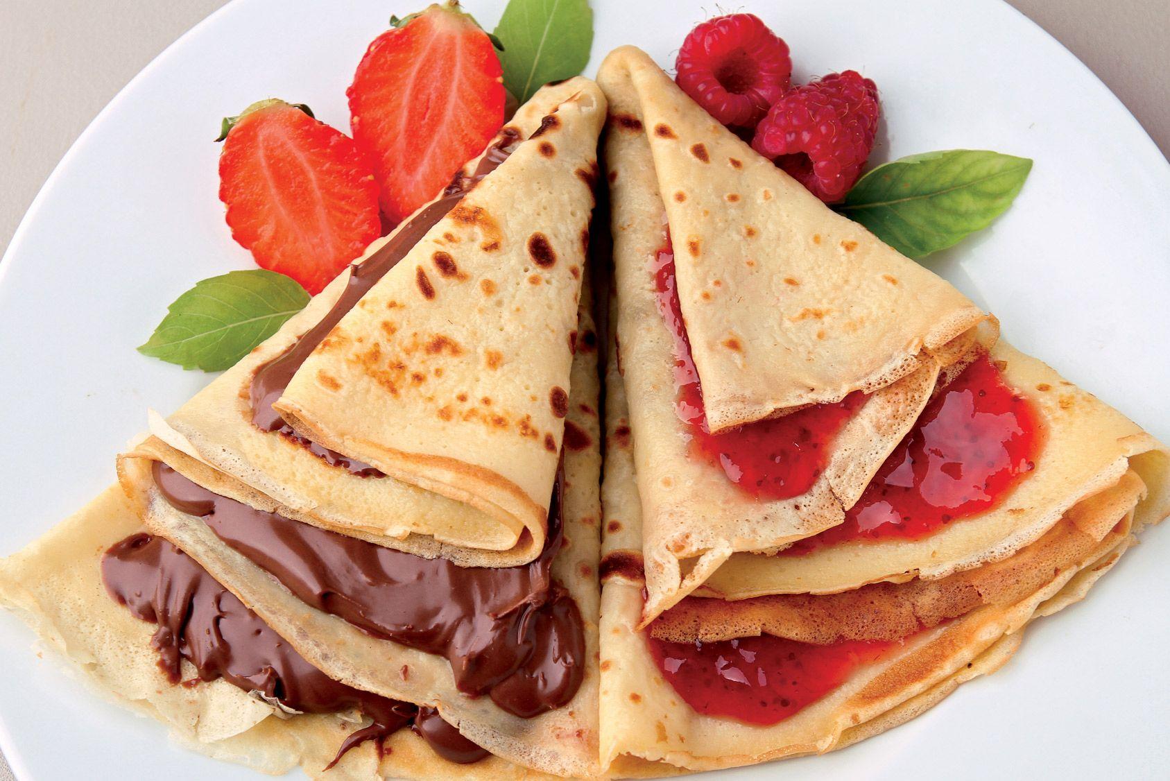 Comparatif: crêpes, galettes, pancakes... vous avez de la pâte, vous avez du sucre