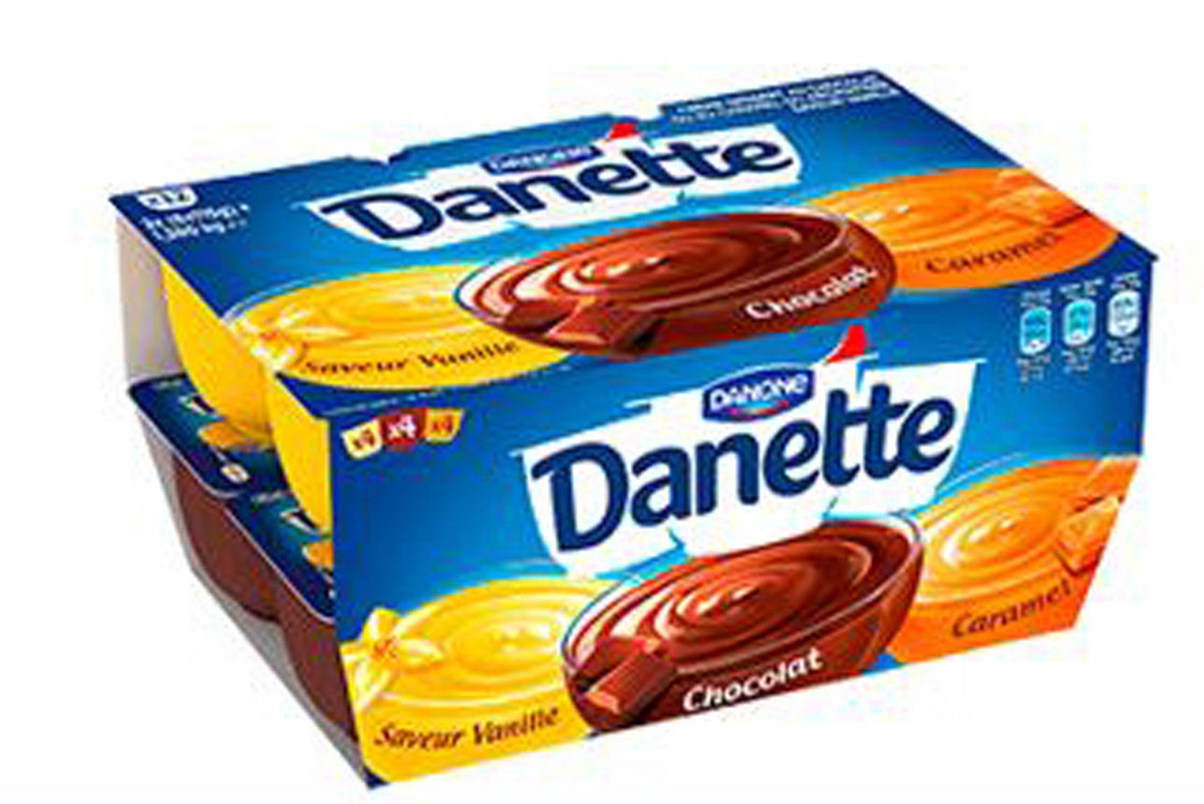 Danone rappelle des pots de Danette défectueux