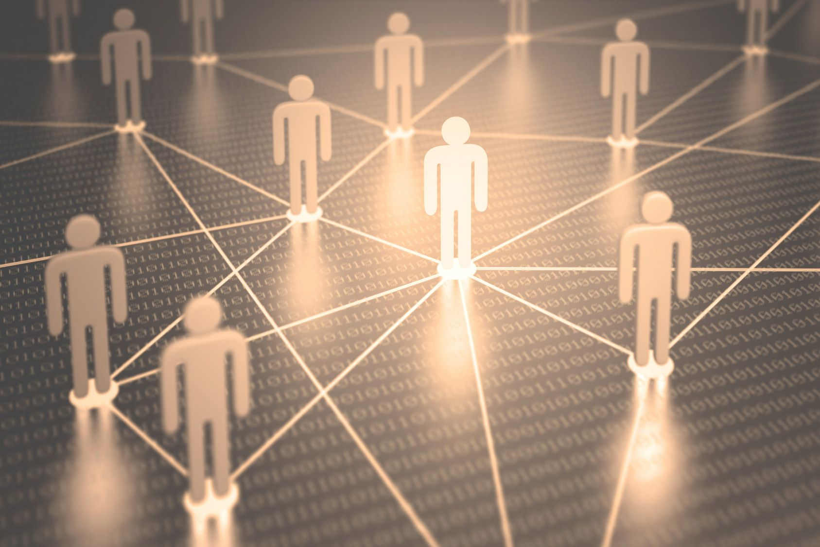 Internet: ces réseaux, créateurs de lien dans l'immeuble