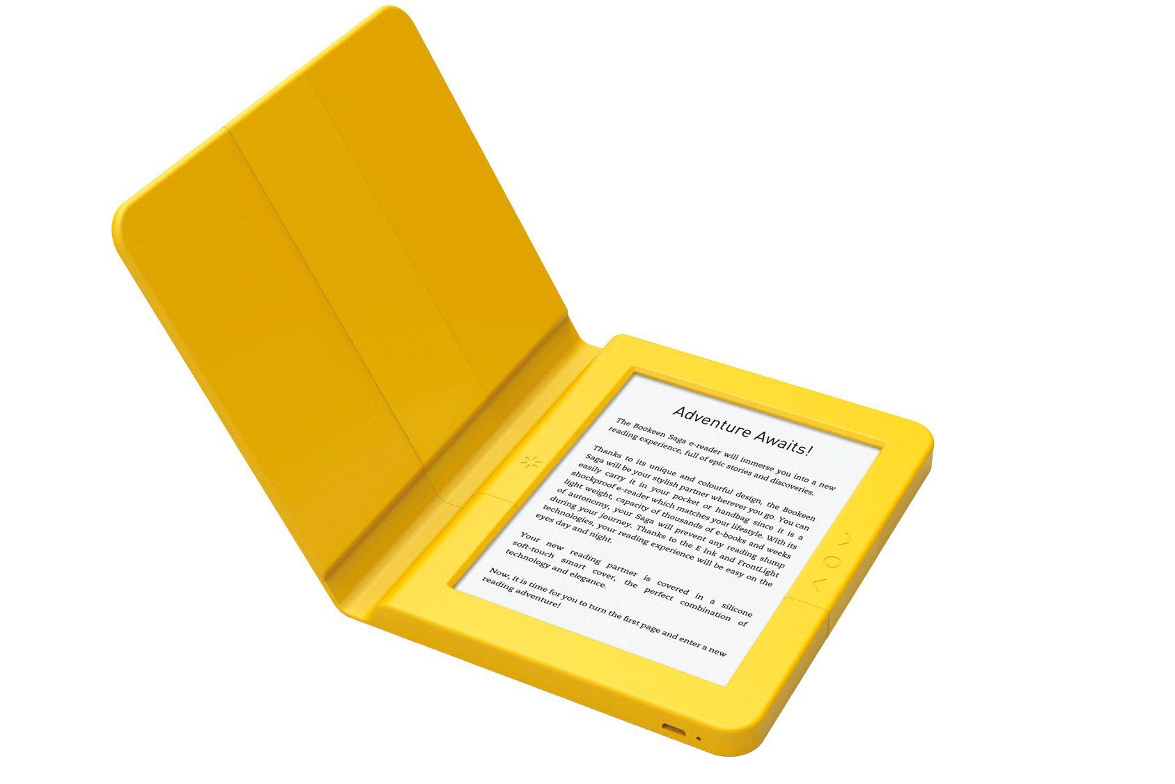 Nos essais: liseuse électronique Bookeen - Saga, comme dans un livre
