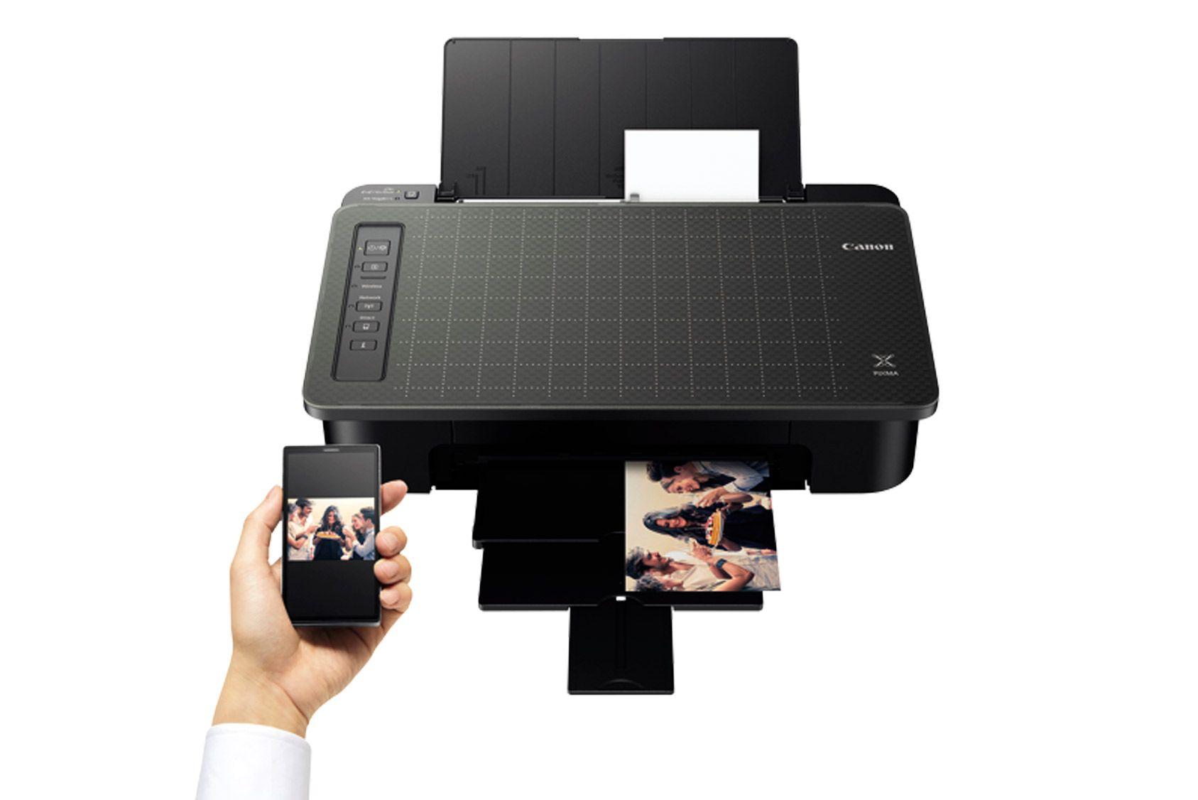 Nos essais: Imprimante à jet d'encre Canon - Pixma TS305, prix serré, mais fonctions assurées