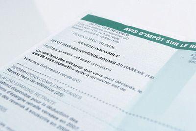 Les avis d'impôt sur le revenu 2018 seront disponibles dès juillet