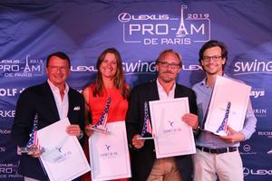 18ème LEXUS Pro-Am de Paris 2019 - Equipe LE MATHURIN 2 vainqueur Concours de l'Elégance CARNET DE VOL