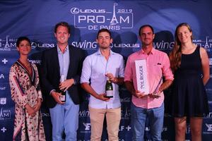 18ème LEXUS Pro-Am de Paris 2019 - Vainqueurs pros