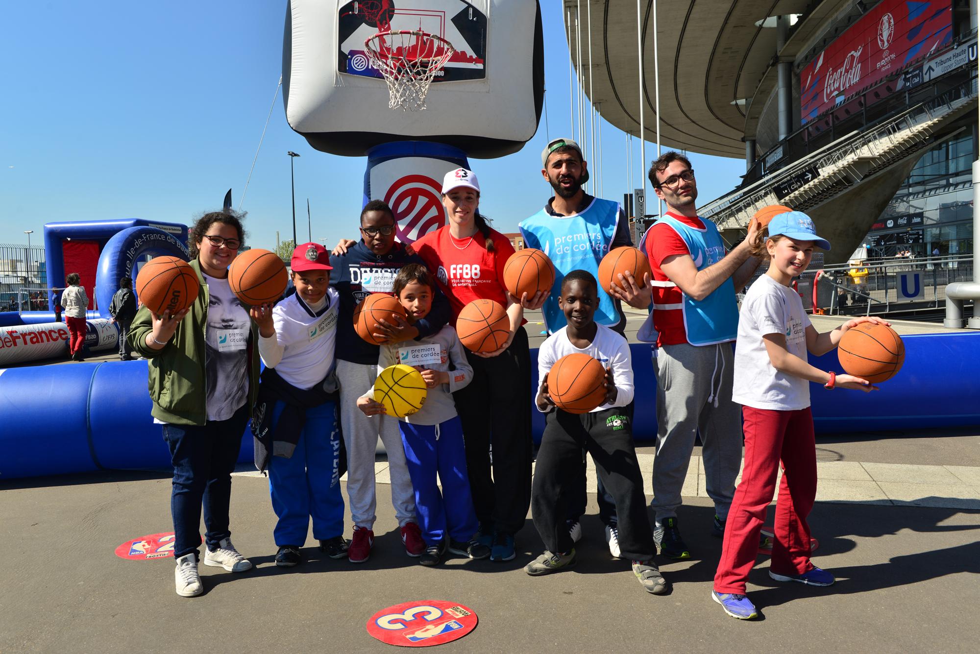 Journée Evasion, le sport au service des enfants malades