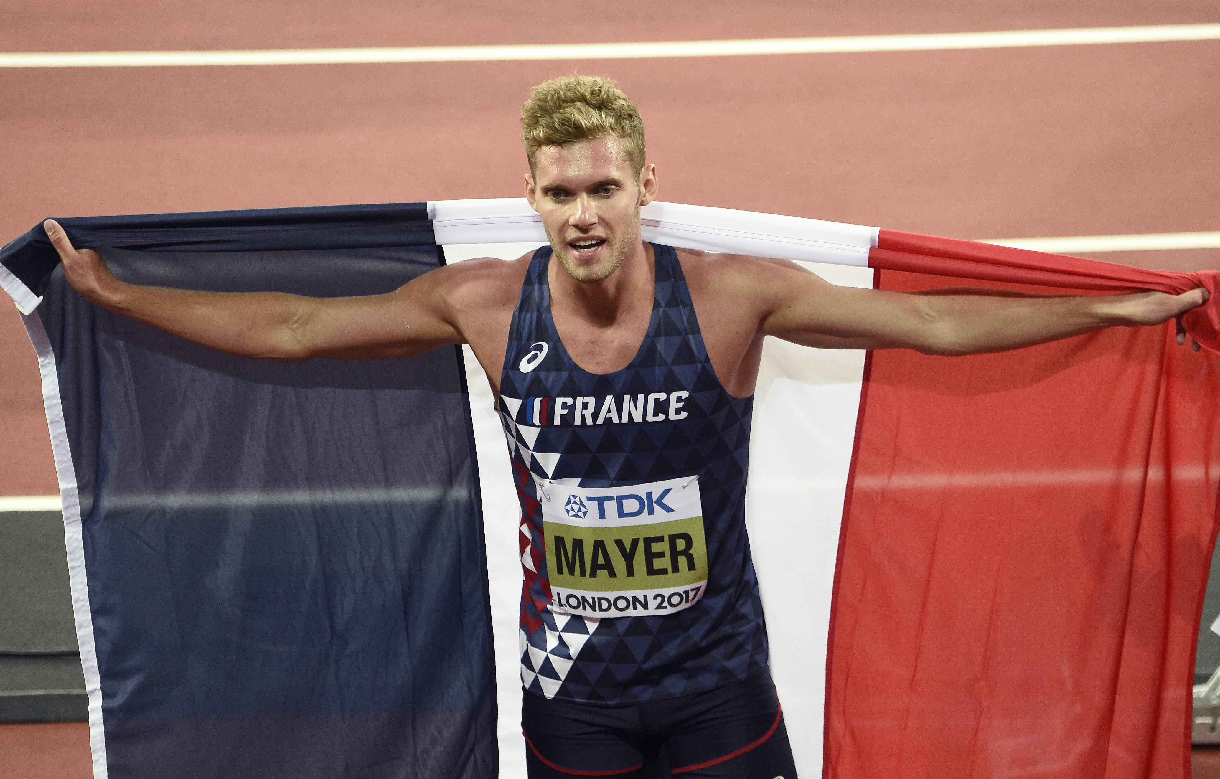 Athlétisme - Kevin Mayer répond à un tweet sur «la beauté de la race blanche»