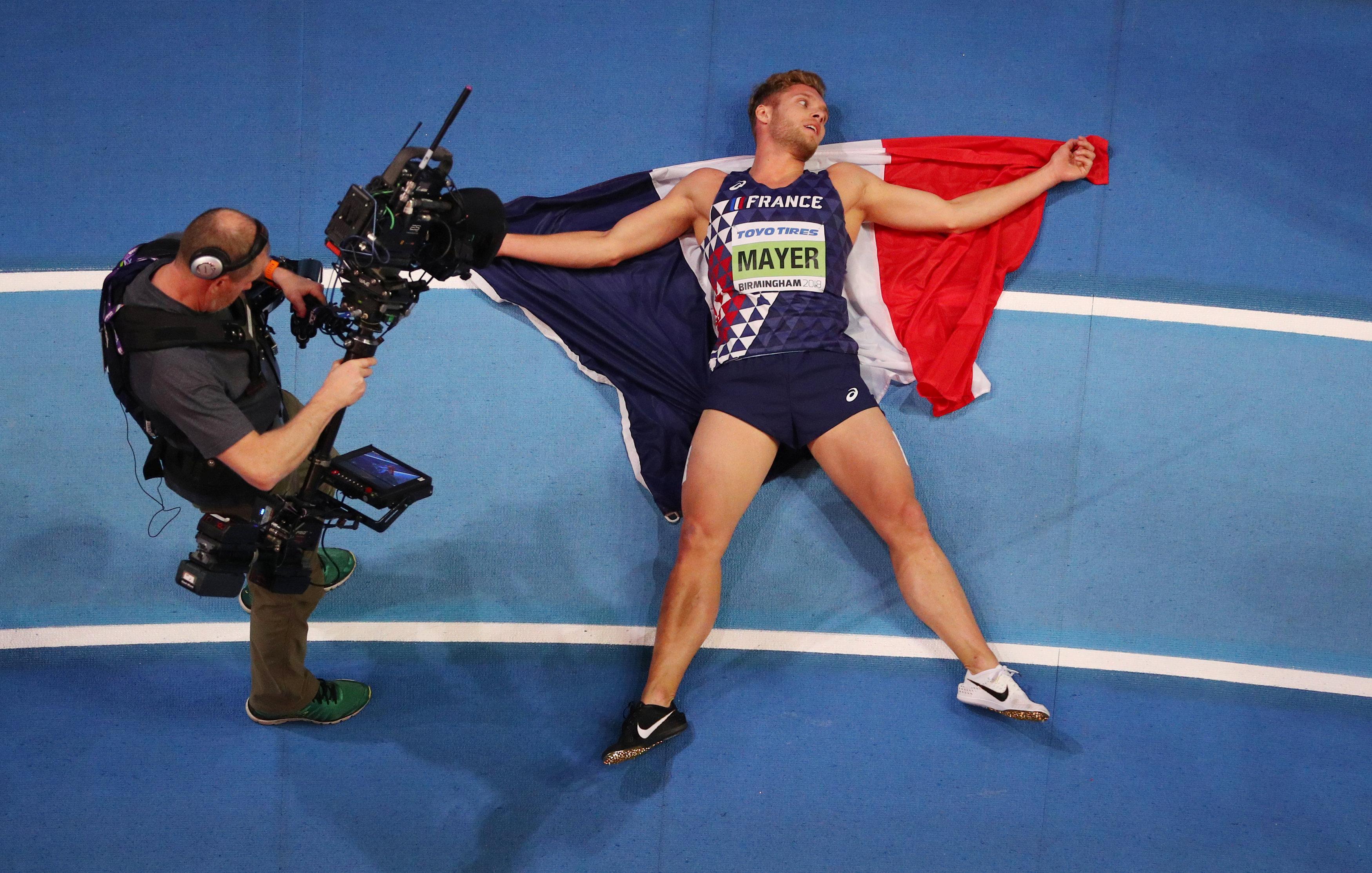 Kevin mayer sacr champion du monde en salle de l - Salle de sport charbonnieres les bains ...