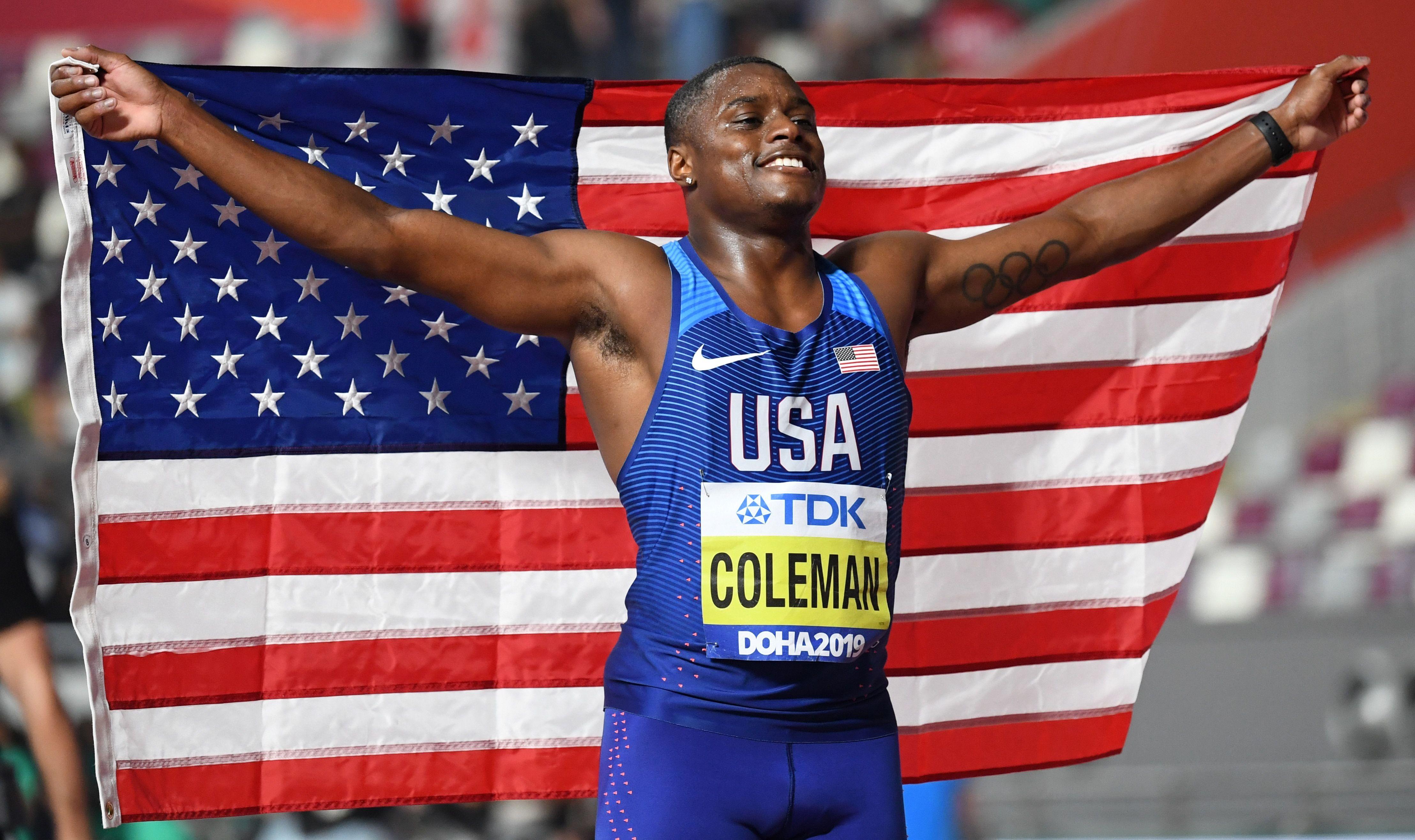Mondiaux de Doha : l'Américain Coleman champion du monde du 100 m