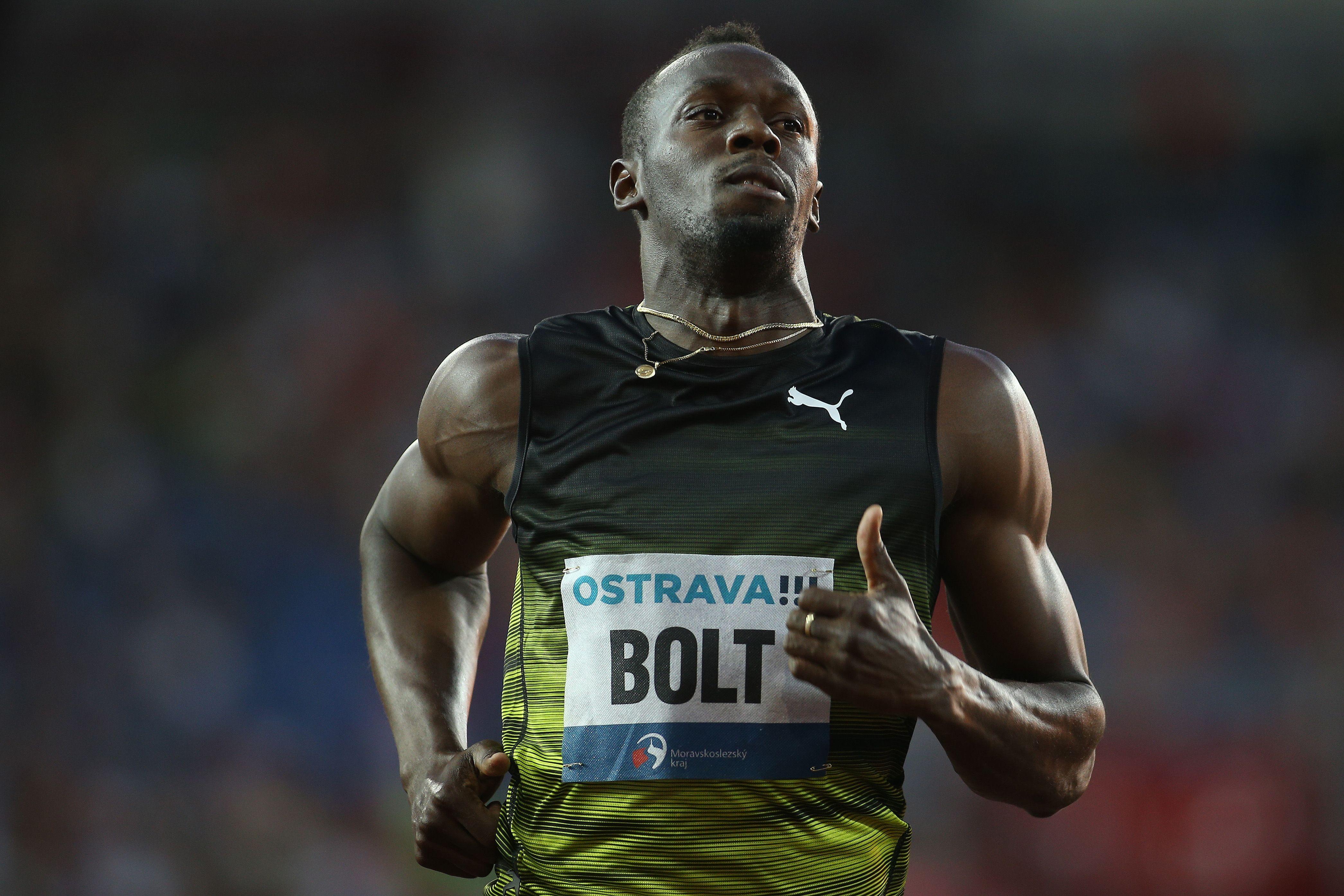 Athlétisme - Pas d'étincelles pour la der de Bolt à Ostrava