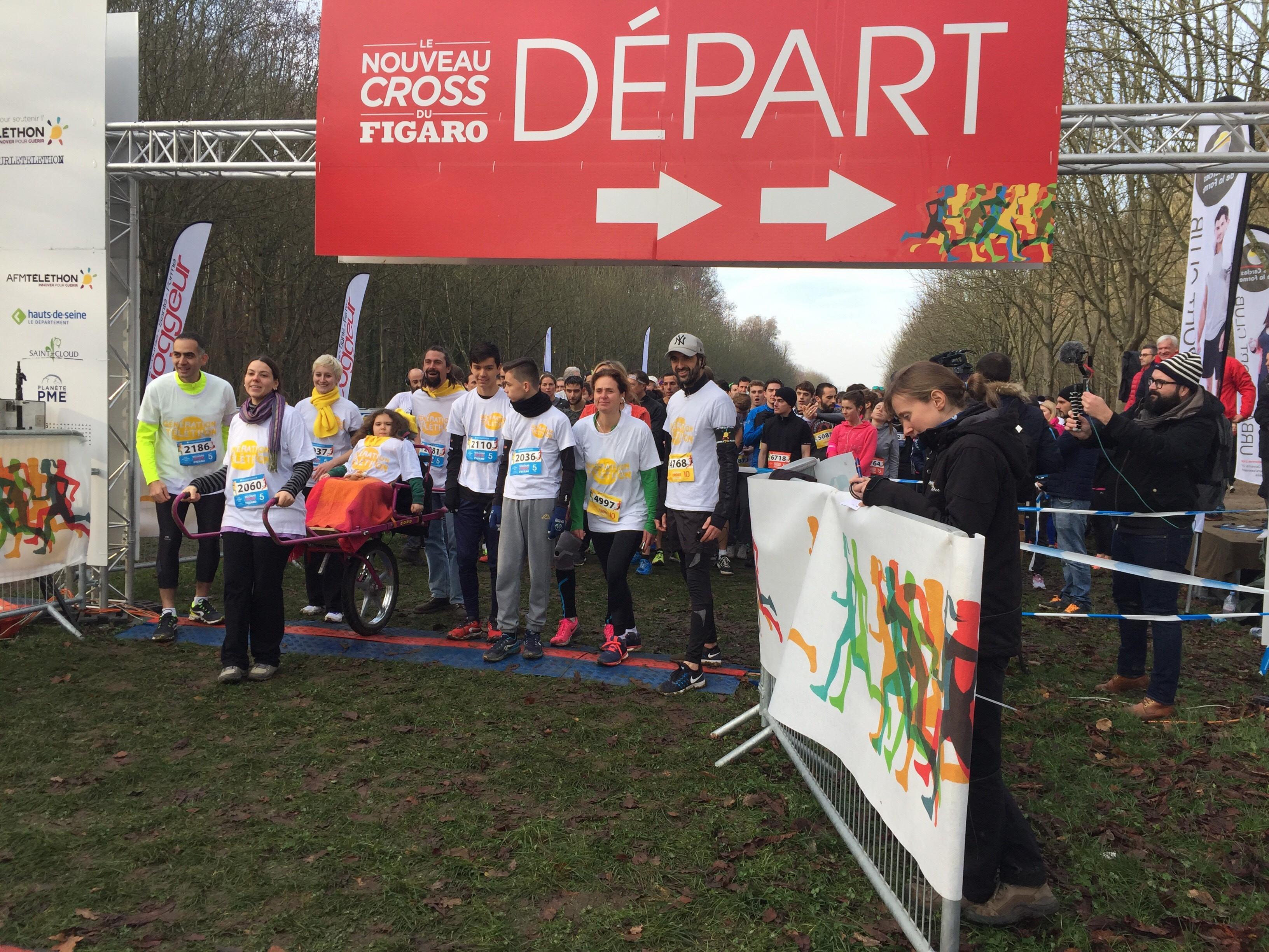 Athlétisme - Running - Un cross du Figaro plus solidaire que jamais