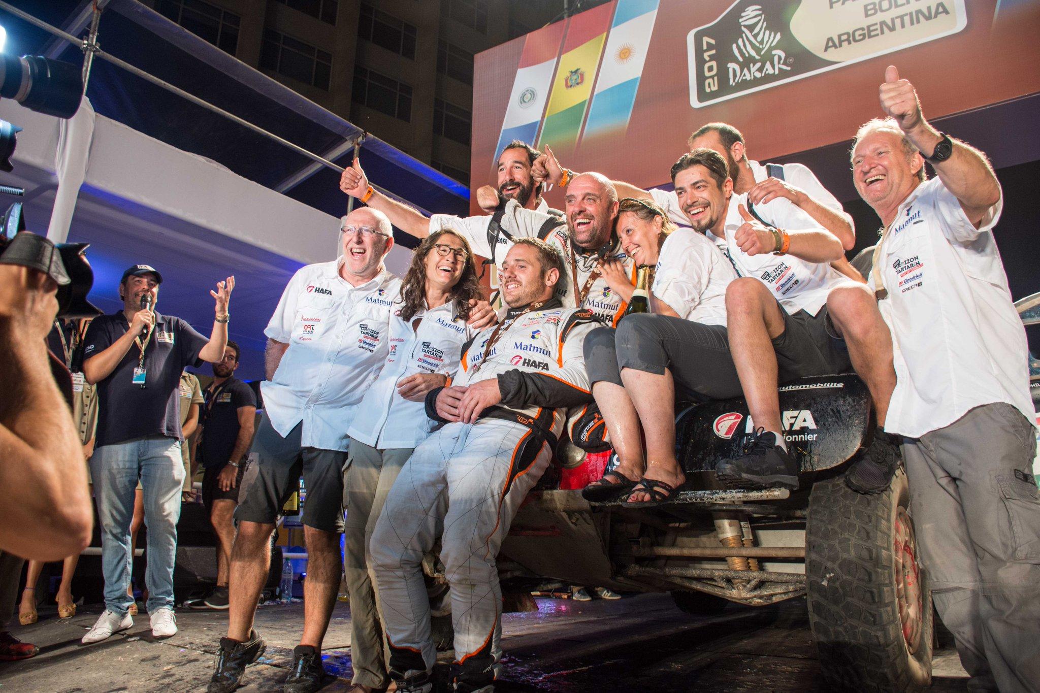 Auto/Moto - Dakar - Le quadri-amputé Philippe Croizon a réussi son pari fou