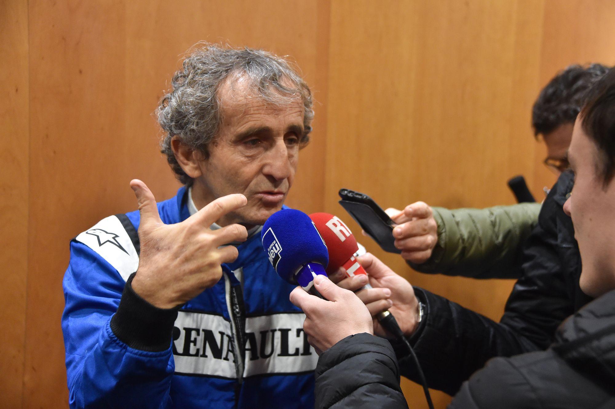 Auto/Moto - Alain Prost au Figaro : «Les F1 actuelles ne sont pas belles»