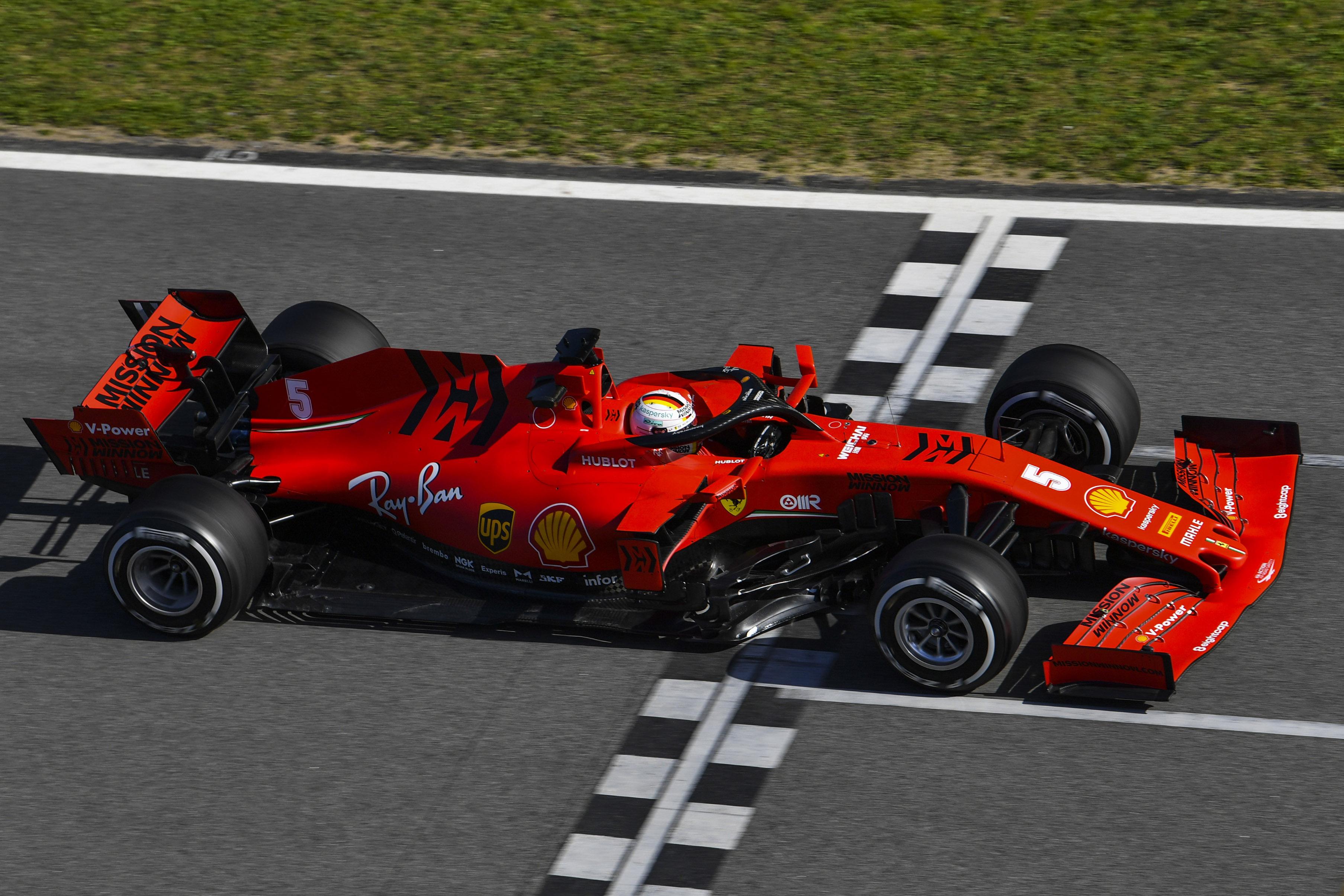 Essais de Barcelone : Vettel réveille Ferrari