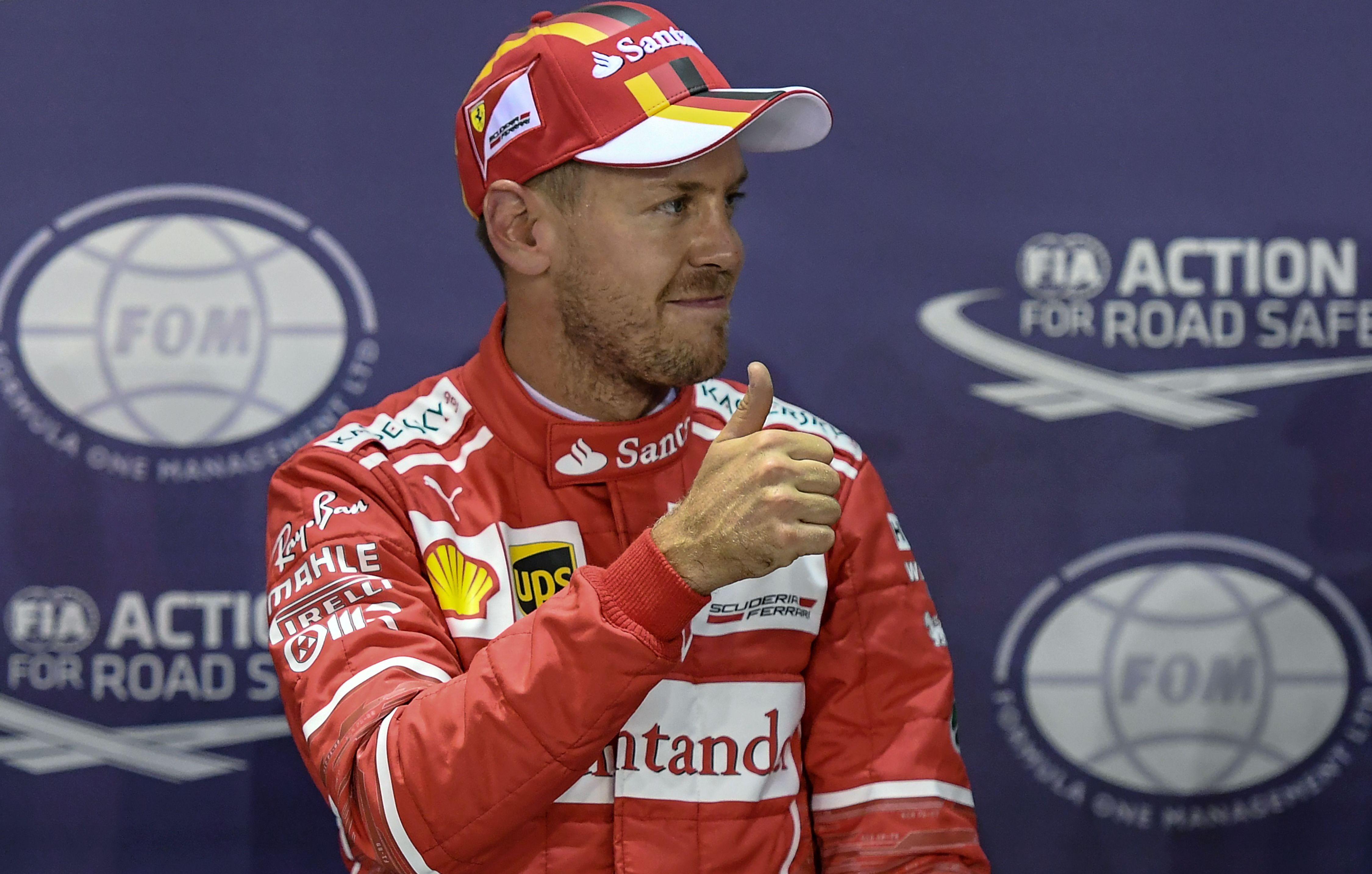Auto/Moto - GP de Singapour : Vettel en pole, Hamilton seulement 5e