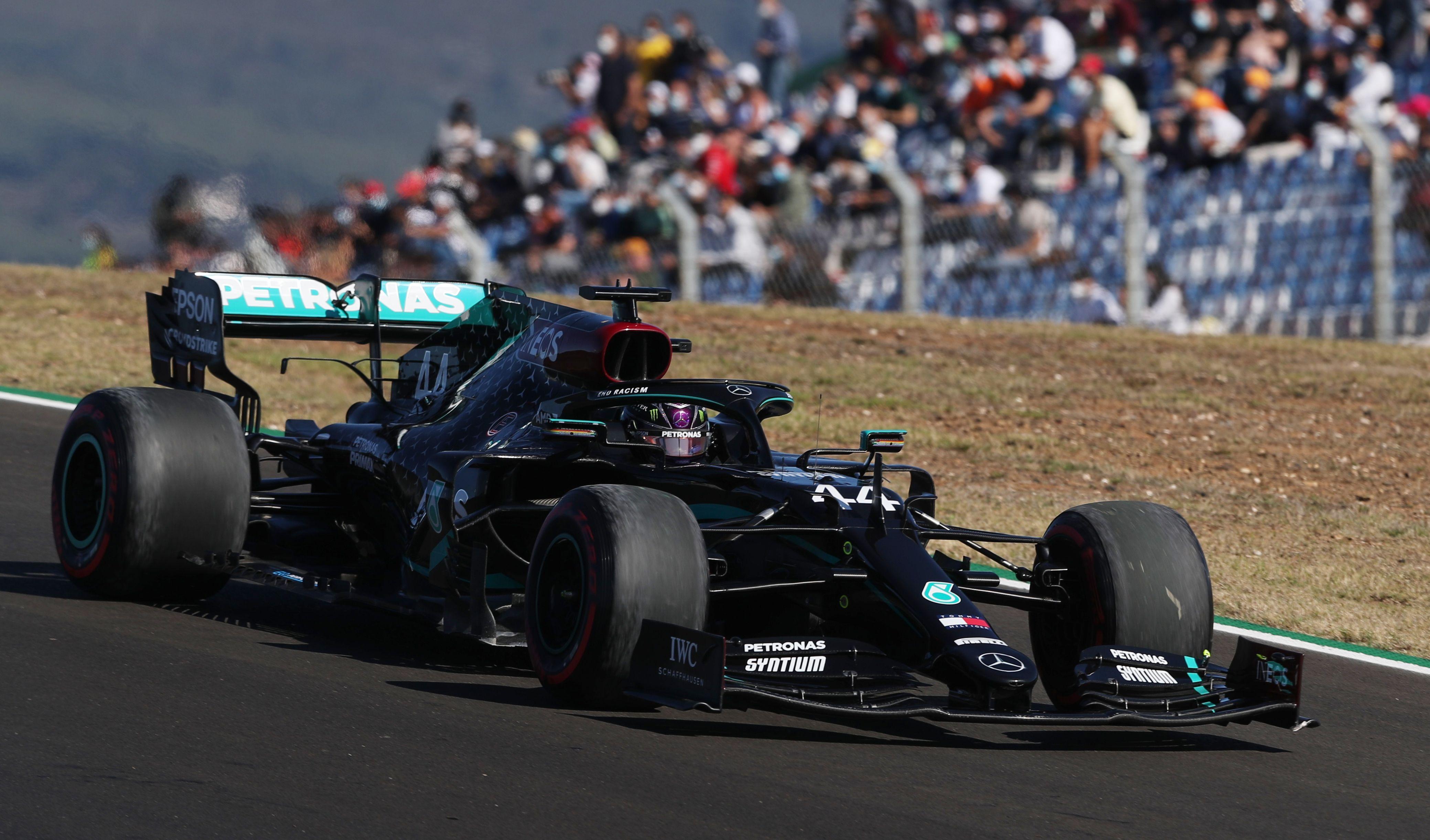 GP du Portugal : Hamilton confisque (encore) la pole