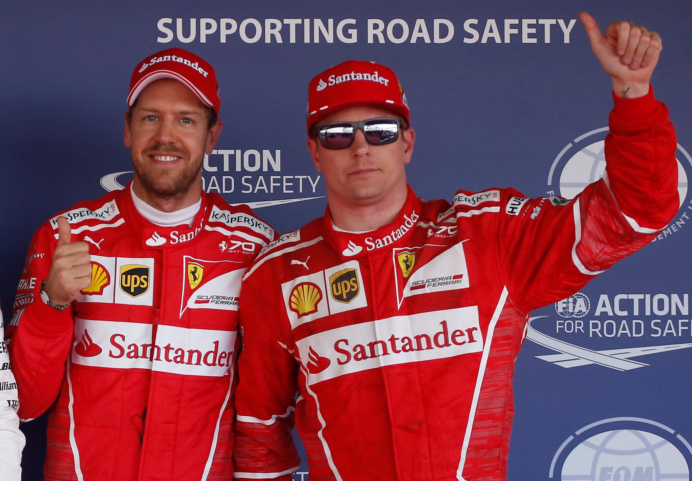 Auto/Moto - GP Russie : Une première ligne 100% Ferrari, Ocon va jusqu'en Q3