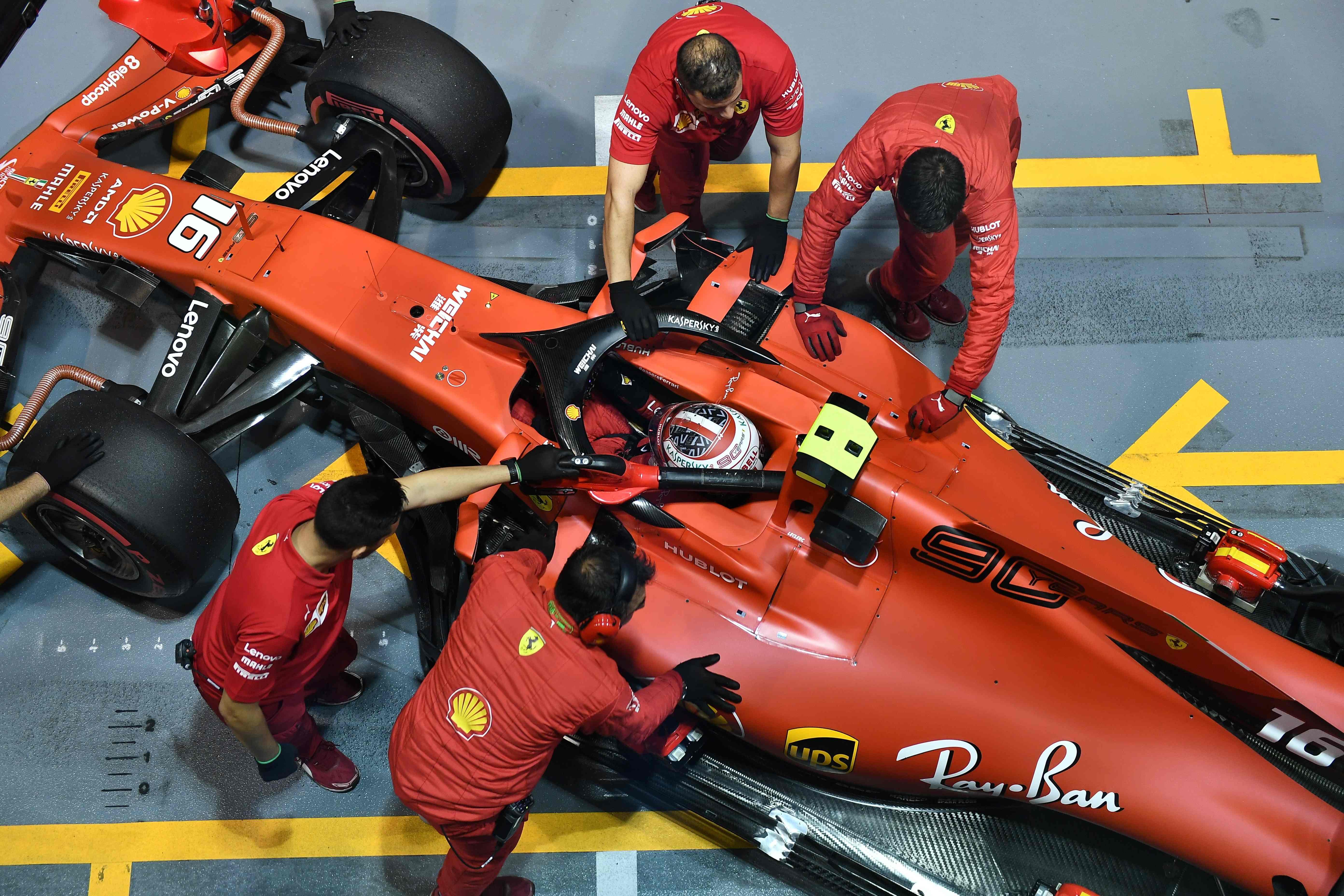 GP Singapour : Encore une pole position pour Leclerc
