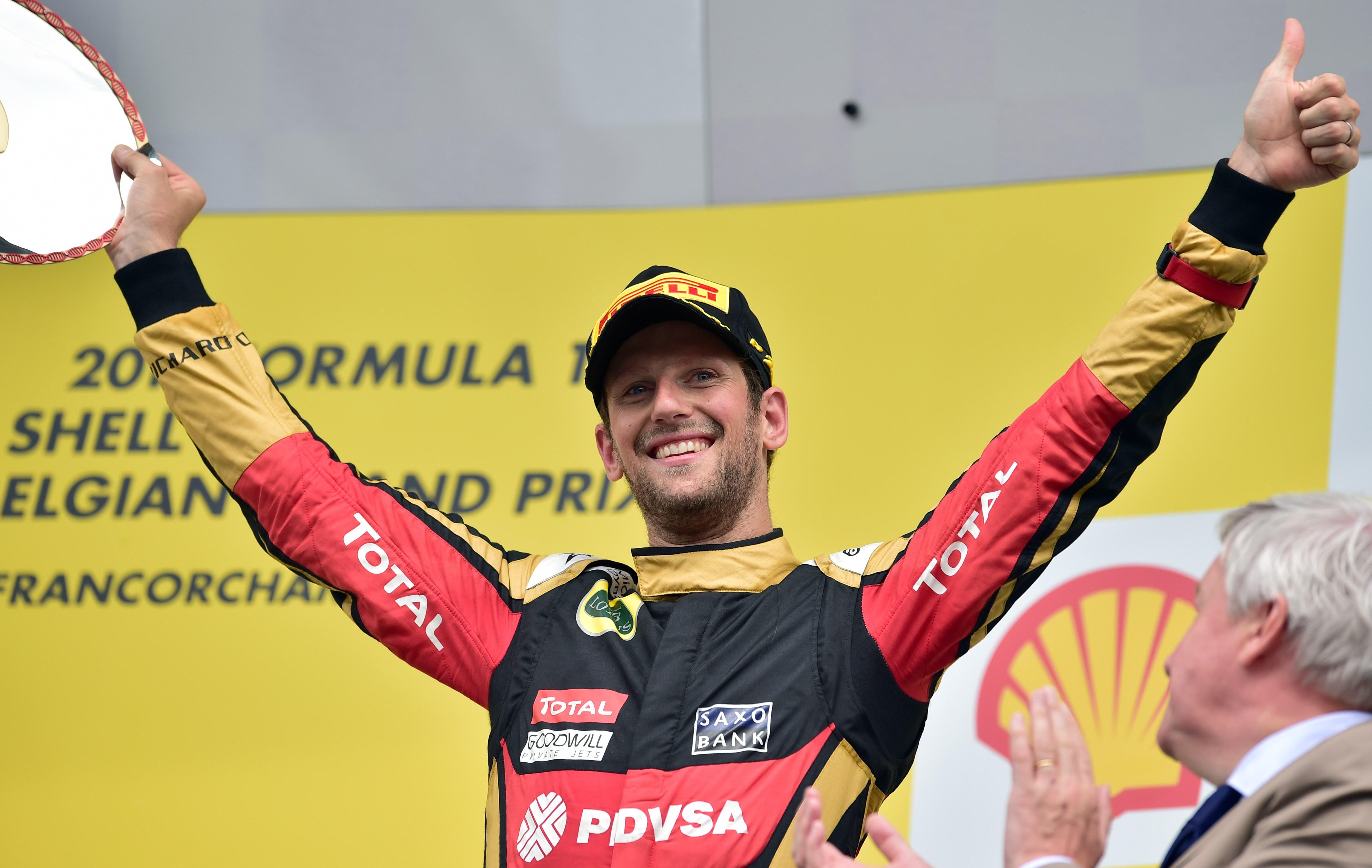 F1 - Grosjean : �J'ai profit� de chaque instant�