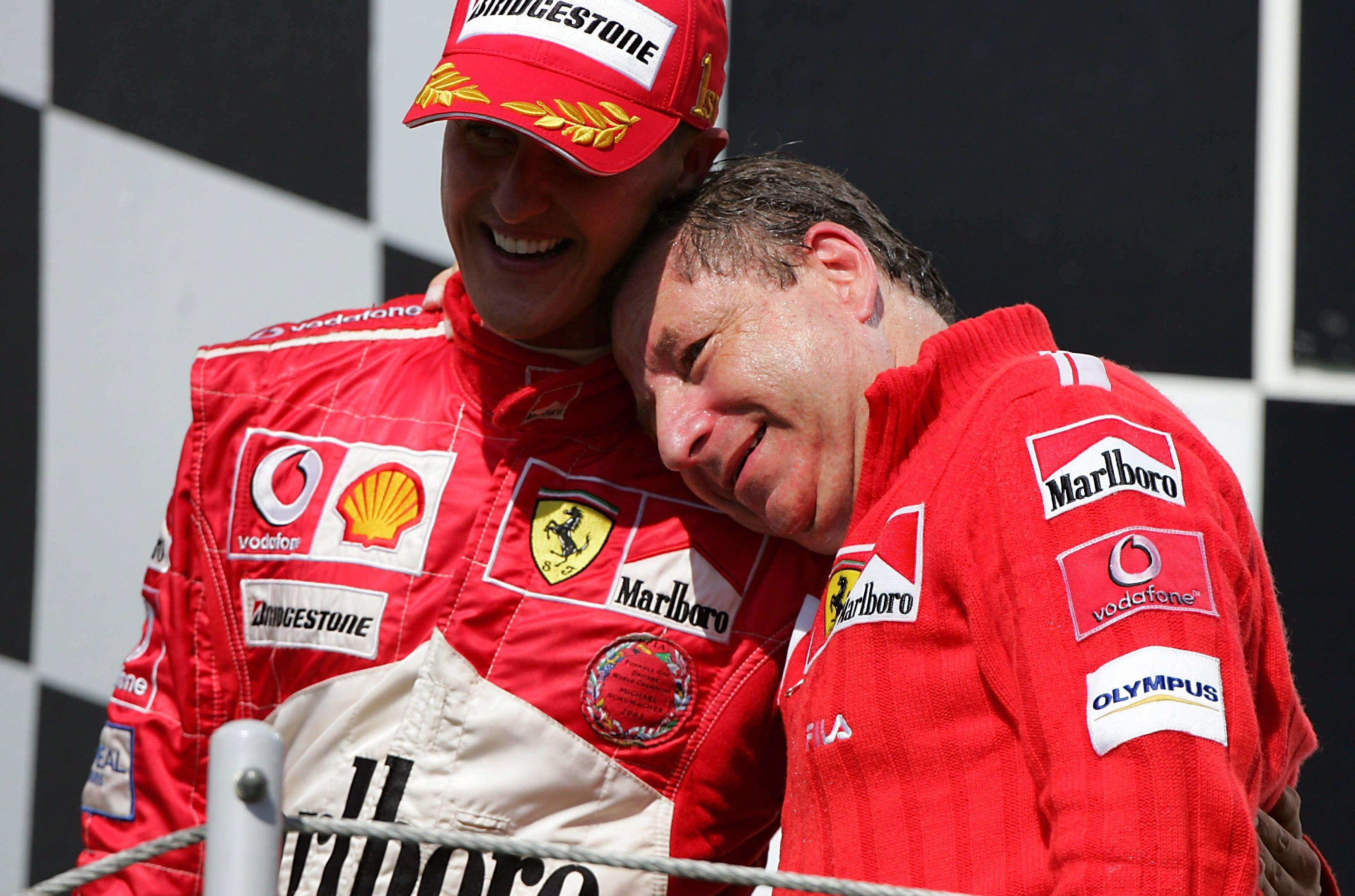 Auto/Moto - Jean Todt a regardé le Grand Prix du Brésil avec Michael Schumacher