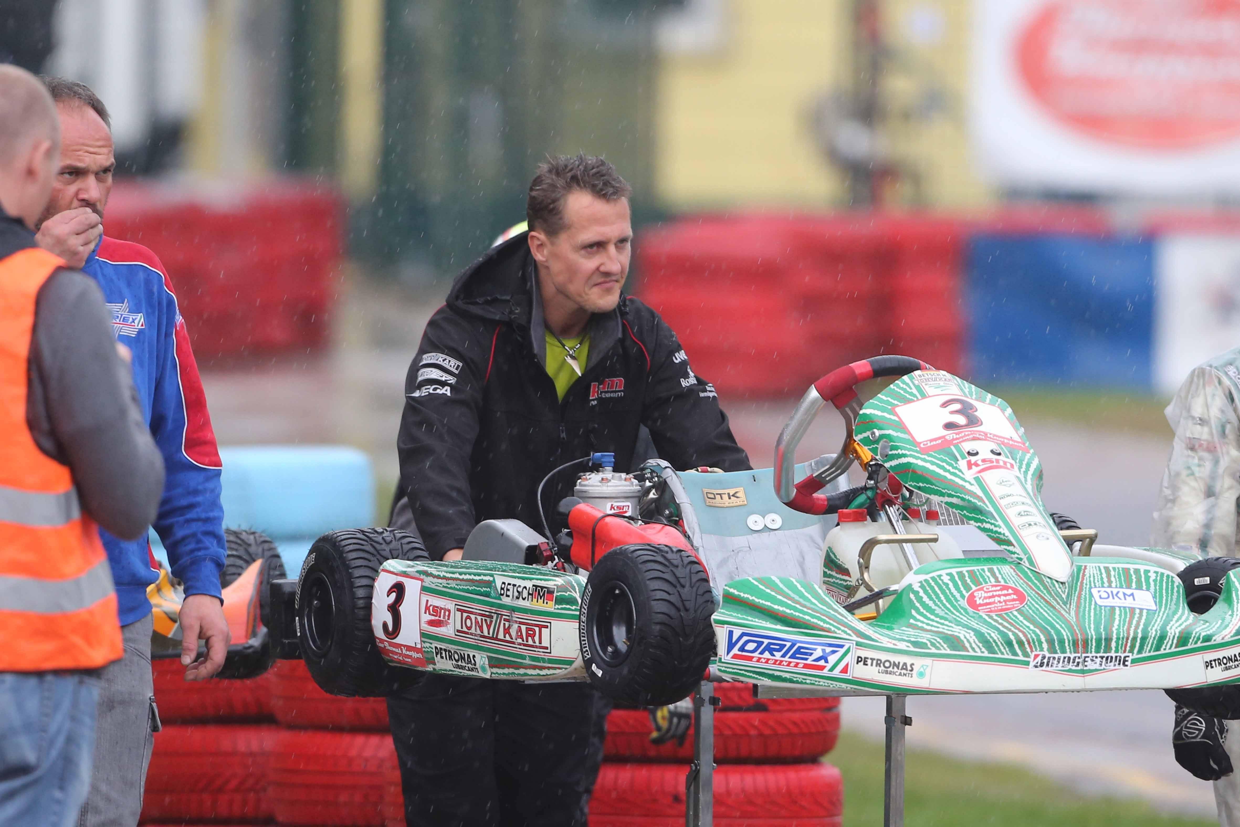 F1 -  Les nouvelles de Michael Schumacher ne sont �pas bonnes�