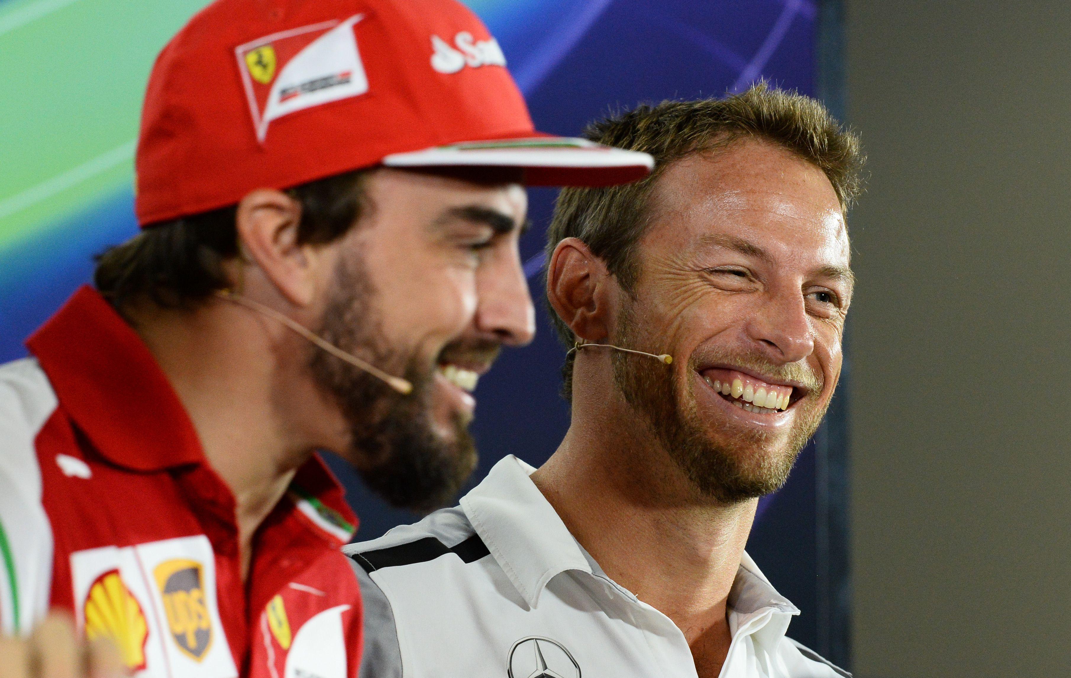 F1 - McLaren : Button s?assoit � c�t� d?Alonso