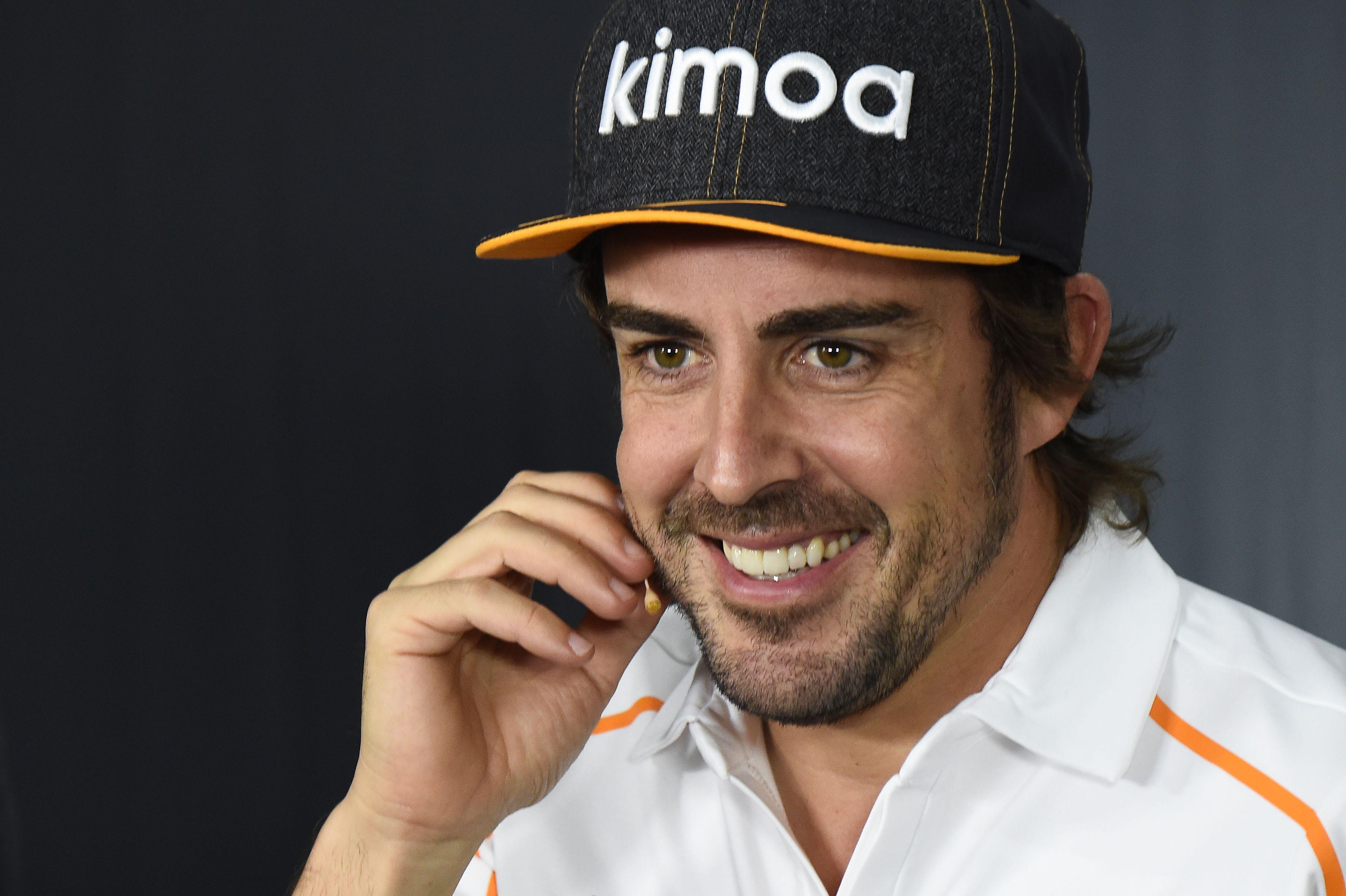 Auto/Moto - Même dans le dur au Castellet, Alonso nage encore dans le bonheur