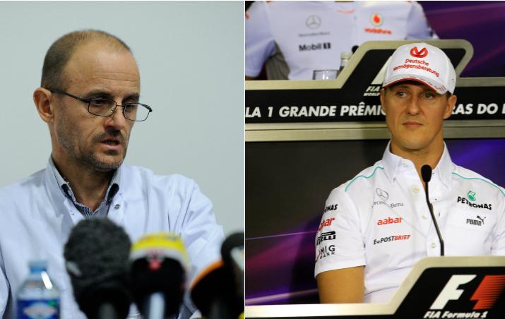F1 - Michael Schumacher fait �quelques progr�s�