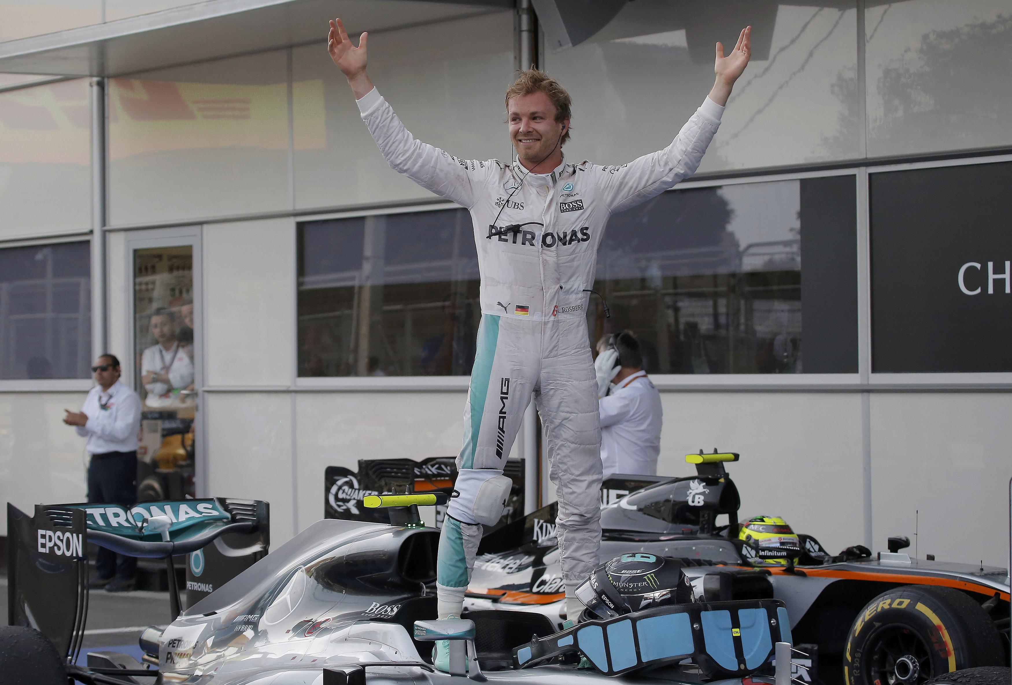 F1 - Nico Rosberg, prince de Bakou